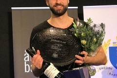 Glad svensk mästare